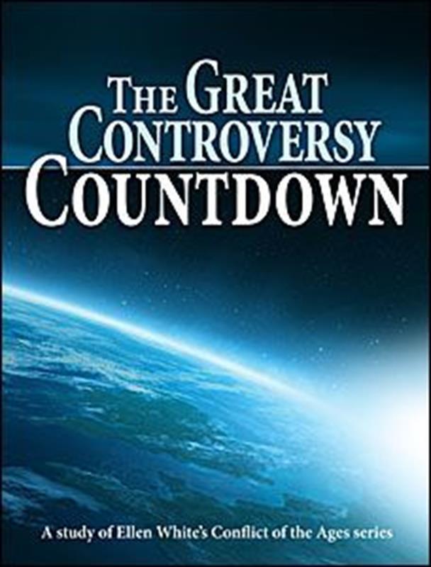 GREAT CONTROVERSY COUNTDOWN,ELLEN WHITE,0816325359